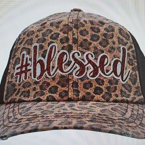 Accessories - Cheeta BLESSED Cap Hat